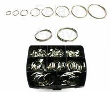 Schlüsselring Rundringe Rundring Key Ring Schlüsselring 47 Varianten NEU (F000)
