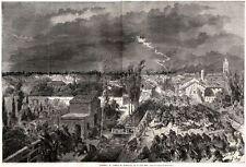 11 Giugno 1859: INSIEME DELLA BATTAGLIA DI MELEGNANO. Grandissima. Risorgimento