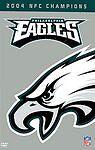 Philadelphia Eagles DVD 2004 NFC CHAMPIONS! FREE SHIP NIP McNabb Trotter Douglas