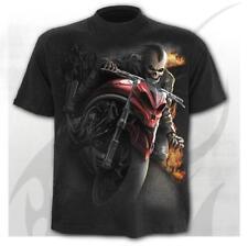 SPIRAL DIRECT Speed Demon T-shirt // Fire/crâne // gothique/biker/tattoo/