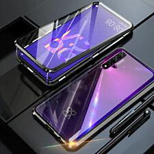 COVER per Huawei Nova 5T CUSTODIA ORIGINALE MAGNETICA 360 DOPPIO VETRO TEMPERATO