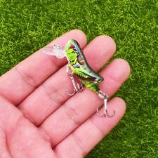 Hard Crank Artificial Insects Fishing Lure Crankbait Grasshopper Bionic Bait