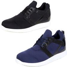Sneaker Herren-Schuhe Fashion Sport Low Cut Neopren Design Schnürer K-154 NEU