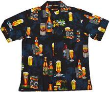 Kurzarm Hawaii Hemd KAMRO 15852 Beer Kokosknöpfe M - XXL