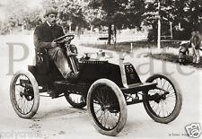 Automobile voiture ancienne 1900 à identifier - retirage d'après négatif ancien