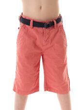 Brunotti Walkshort kurze Hose Bermudahose rosa Gürtel Cabberes Tasche