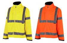 Traega TSJ30 Hi Vis Safety Premium Softshell Jacket Class 3 - Various Sizes
