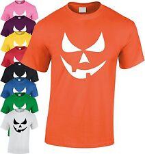 Déguisement Halloween Visage Souriant citrouille enfants T Shirt T-shirt