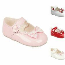 Bébé Filles Landau Chaussures, Baptême fête de mariage, vichy nœud Early Days Baypods