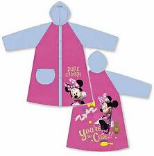 Disney Minnie Mouse-Niños Impermeable Rosa Y Azul Impermeable Pvc