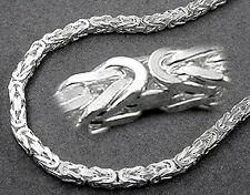 925 ECHT SILBER *** Massive Kette Königskette 45 cm / 3 mm breit