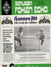 BL 82/83  Borussia M´gladbach - Eintracht Braunschweig