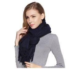 Luxury large soft real wool cashmere shawl scarf