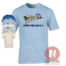 RAF Avro Vulcan B.2 T-shirt delta wing bomber aircraft cold war Royal airforce