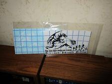 Savadge Dragon Games Stick Figure Crunchy Vinyl Window Glass Display
