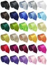 Krawatte Schmale Business dünn Skinny Neck Tie trendy modern Schlips Binder NEU