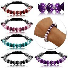 Shamballa Bracelet Boule Perles Chaîne Bisco Bangle Bijoux Fashion Enfants Femme