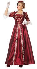 Marquise - weinrot Gräfin Kostüm Edeldame Kostüm Karnevalkostüm