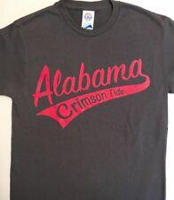 Alabama Crimson Tide Tail Sweep T-Shirt Charcoal Grey
