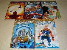 Marineman 1 2 3 4 5 1st Prints Ian Churchill Image Comics