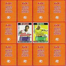 KICK Football Magazine WORLD FOOTY HEROES 2006 (Soccer) player card - VARIOUS