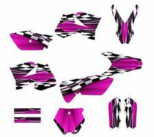 KTM SX 85 SX105 graphics kit 2006 2007 2008 2009 2010 2011 2012 #2500 Hot Pink