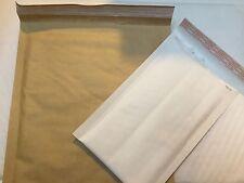 MAIL ING BUBBLE BAGS LITE WHITE + GOLD A000 B00 C0 D1 E2 F3 G4 H5 J6 K7 FREE 24h