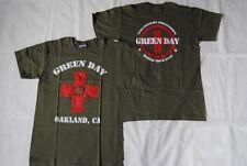 GREEN DAY OAKLAND ARMY 21ST CENTURY BREAKDOWN WORLD TOUR 2009 T SHIRT NEW RARE