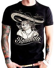 La marca del diablo [bandida] t-shirt rockabilly Biker tatuaje Ink Harley rocker