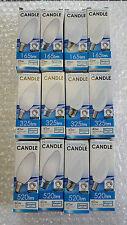 x1 x2 x5 x10 25w, 40w, 60w BC, SBC, ES, SES Opal Candle Bulbs