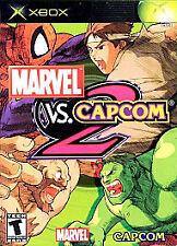 MARVEL vs. CAPCOM 2 (Microsoft Xbox, 2003) ~ Very Gd Condition ~ Complete