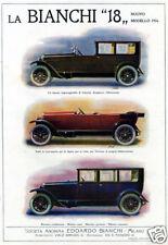 """Edoardo BIANCHI-modelli """"18 """"-impareggiabile-1924-"""