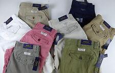 Polo Ralph Lauren Gellar Fatigue Chino Cotton Cargo Shorts $79-89 NWT w RL Badge