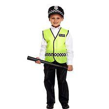 Childs Disfraz de Policía Uniforme niños Fancydress Traje de Niño Policía Policía Policía