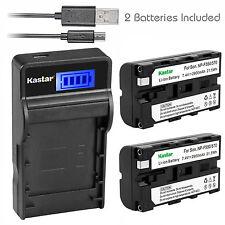 Kastar Battery Charger Sony CCD-TR97 TR200 TR300 TR400 TR500 TR600 TR700 TR800