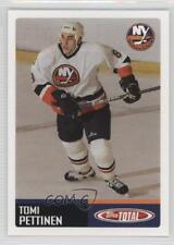 2002-03 Topps Total #408 Tomi Pettinen New York Islanders Rookie Hockey Card
