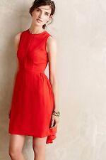 NWT Anthropologie Crimson Fizz Dress