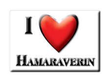 SOUVENIR UK - SCOTLAND MAGNET UNITED KINGDOM I LOVE HAMARAVERIN (HIGHLAND)
