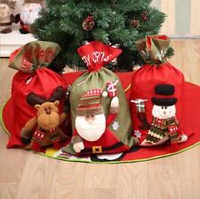New Christmas Large Jumbo Felt Santa Sack Children Xmas Gifts Candy Stocking Bag