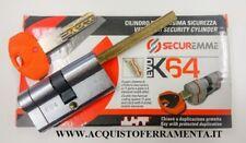 CILINDRO SECUREMME EVO K64  + CODOLO X POMOLO 5 CHIAVI + 1 CH. SERVIZIO