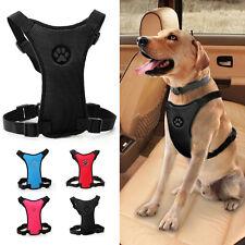 Soft Mesh Paw Print Dog Car Harness Pet Safety Vehicle Seat Belt S M L 5 Colors
