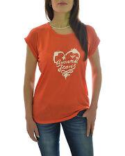 ARMANI JEANS T-shirt con stampa stampa cuore sul fronte in PROMOZIONE