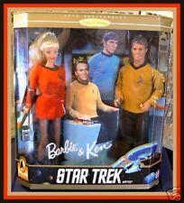 Star Trek 30th Anniversay Gift Set Barbie® & Ken® Nrfb