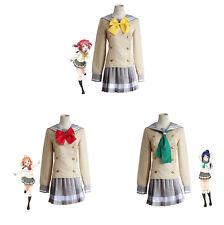 Love Live! Sunshine cosplay costume Urano Hoshi Jogakuin Academy Seifu Uniforme