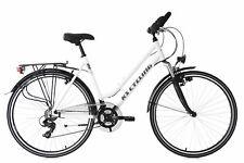 Trekkingrad Damen Alu 28 Zoll Metropolis weiß Multipositionslenker M504T
