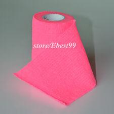 Bandage Gauze Wound Bind Elastic Dressing Frsit Aid Flour Pink 7.5cm*4.5m
