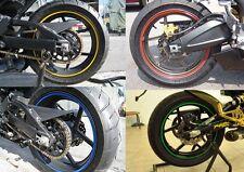 Motorcycle Car Rim Stripe Wheel Decal Tape Sticker Honda Yamaha Suzuki Kawasaki