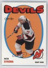 2001-02 O-Pee-Chee Heritage #109 Petr Sykora New Jersey Devils Hockey Card