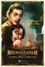 Casa Pared Arte Impreso-MOVIE FILM Bollywood Poster-Mughal E Azam-A4, A3, A2, A1
