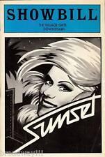 """Tammy Grimes """"SUNSET"""" Will Holt / Gary William Friedman 1983 FLOP Playbill"""